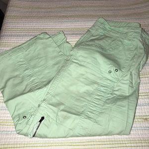 Style & Co Mint Green Capris 1627
